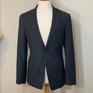 Theory Charcoal Gray 38R Suit